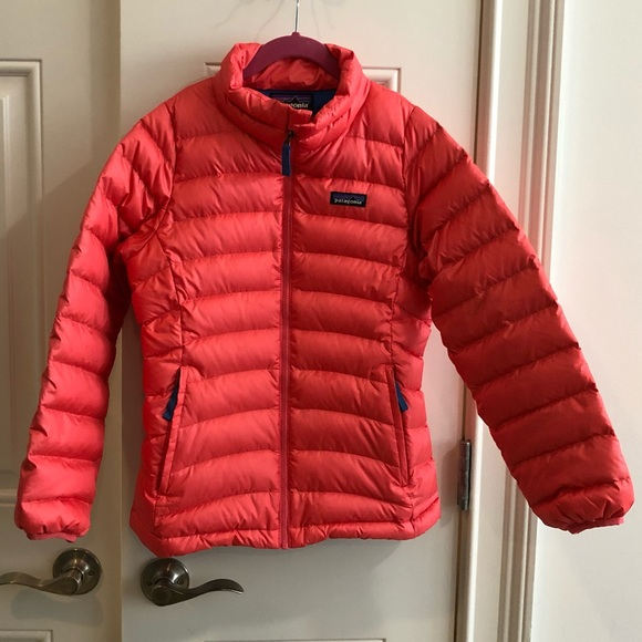 1d3fe85ef229 Patagonia Girls  Down Sweater Jacket sz M 10. M 5bfb41a634a4ef4e0406e2f9